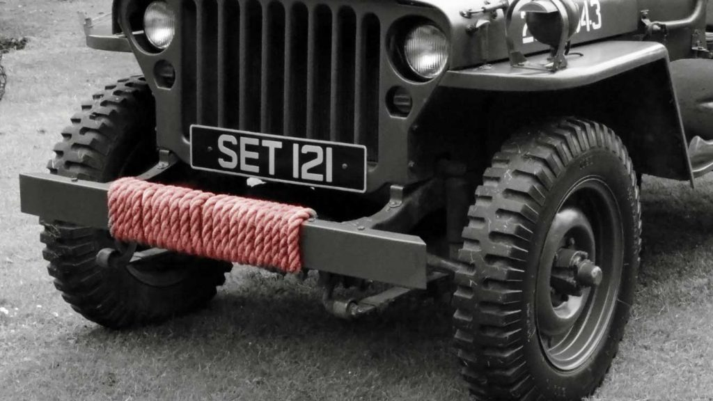 Jeep Recovery Strap