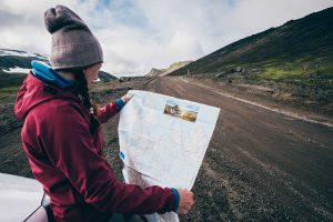 Overlanding Skills Woman with Map