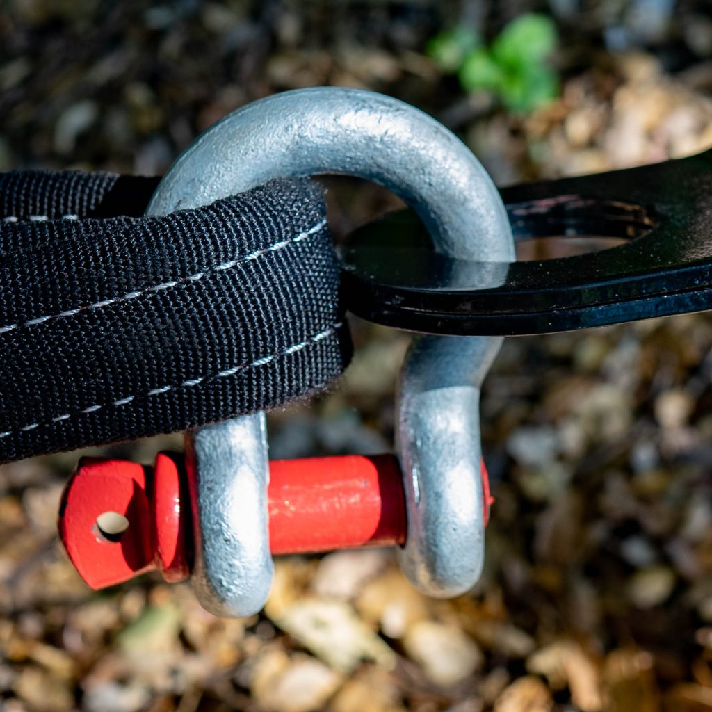D-ring shackle