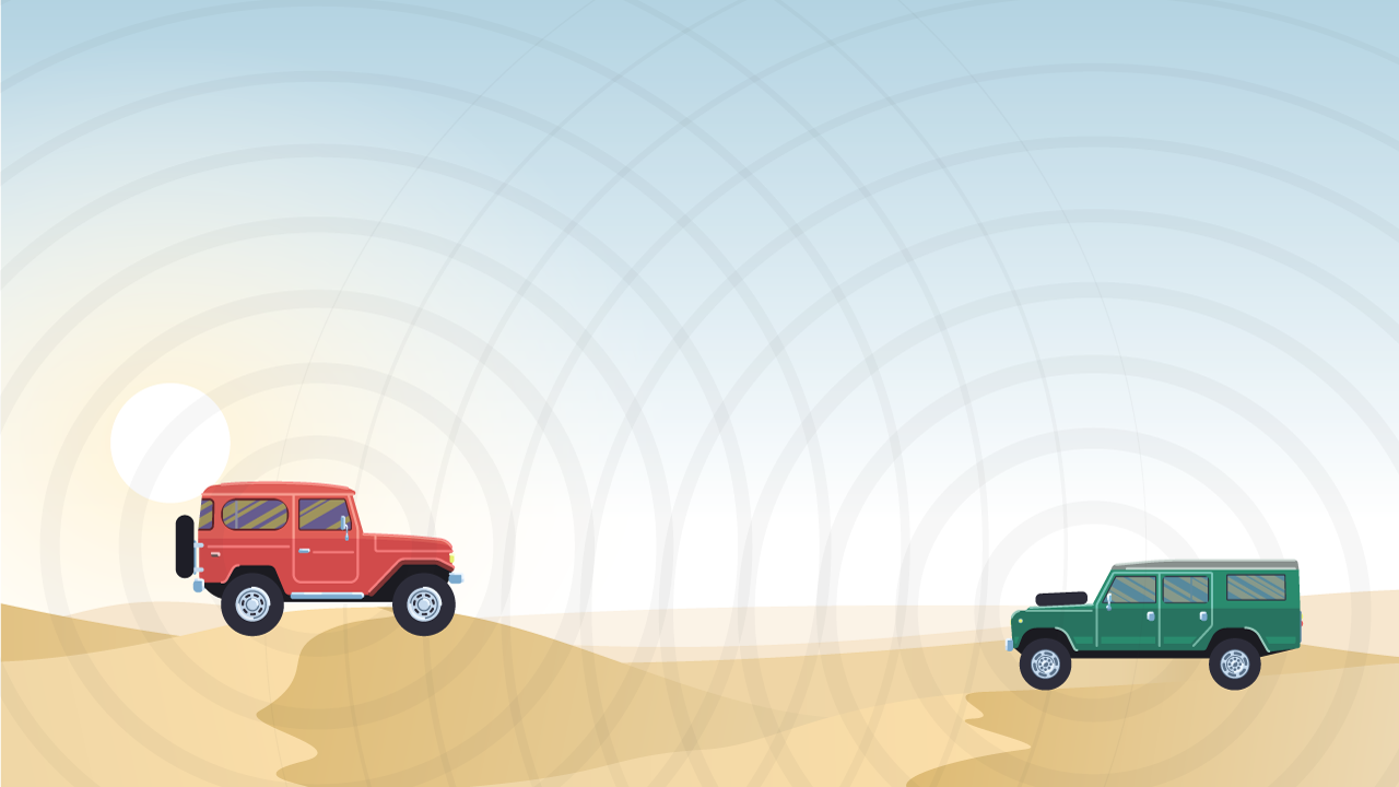 Overland and off road communications